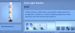 Oval Light Stacker