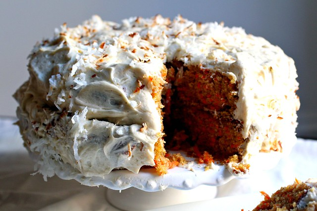 ... carrot cake with brown butter cream cheese frosting! – love.life.eat