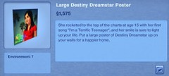 Large Destiny Dreamstar Poster