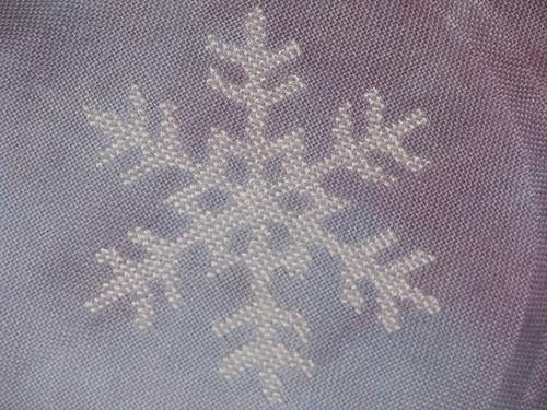 2012 Ornament Pattern Club Cross Stitch Snowflake