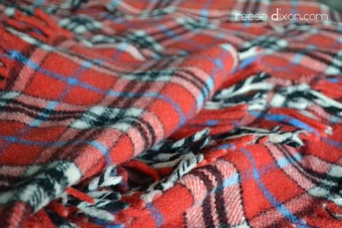 Blanket Cape Tutorial Step 1