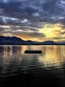 Beckoning float on Osoyoos Lake