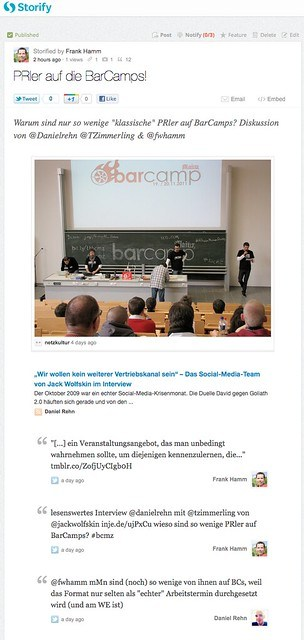 PRler auf die BarCamps!