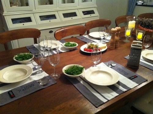 Gezellige tafel...