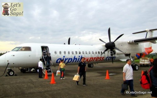 Sagos First in Airphil Express Propeller Plane