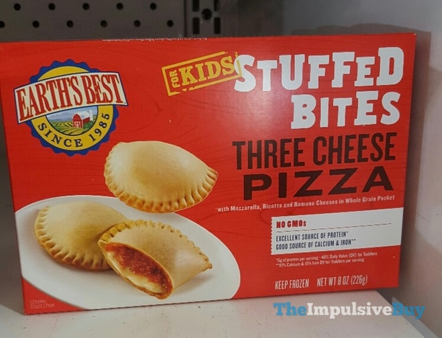 Earth's Best for Kids Three Cheese Pizza Stuffed Bites