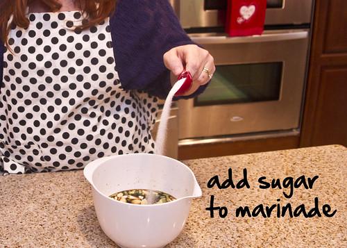 add some sugar, sugar