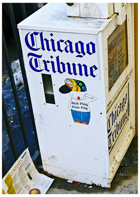 Rich Play - Poor Pay - Chicago Tribune
