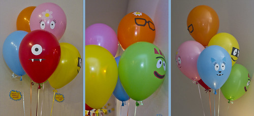 balloons, balloons, balloons make me happy