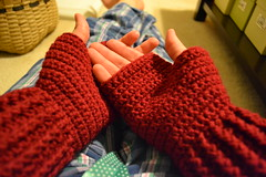 FO: Cabled mitts