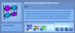 Suite Dreams Spottled Wall Panel