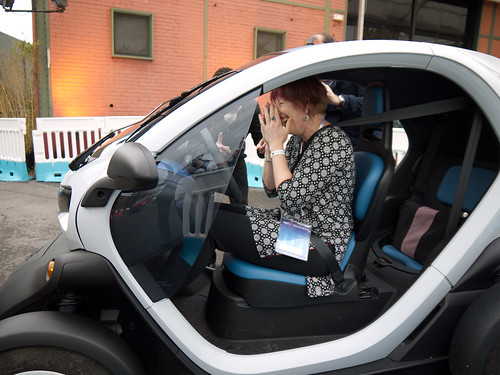 Twizy Test Drive at LeWeb