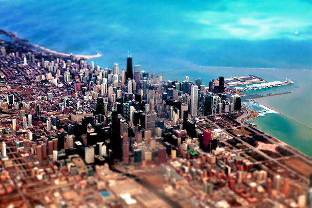 The windy city in miniature