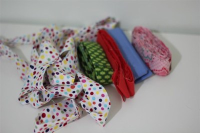 Binding all ready for the blankets of love