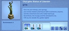 CityLights Statue of Libersim