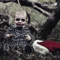 Baby + Jack Skellington outfit = Christmas miracle