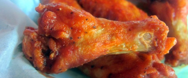 buffalo drumstick at wing factory