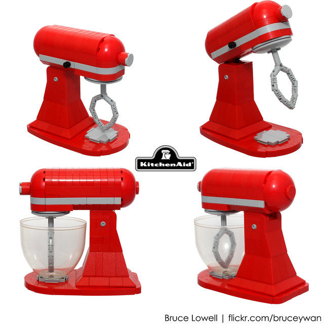 LEGO KitchenAid Tilt-Head Stand Mixer (Details)