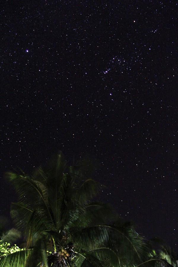 El cielo en Malapascua por la noche