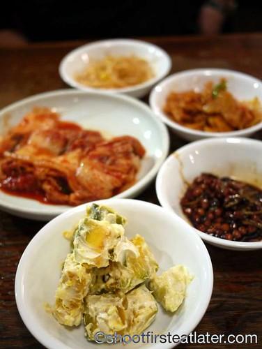 Han Bat Restaurant - Korean squash salad