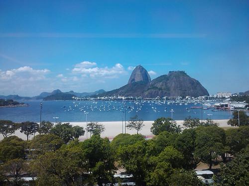 Vista da Praia de Botafogo a partir da sede da Coca-Cola