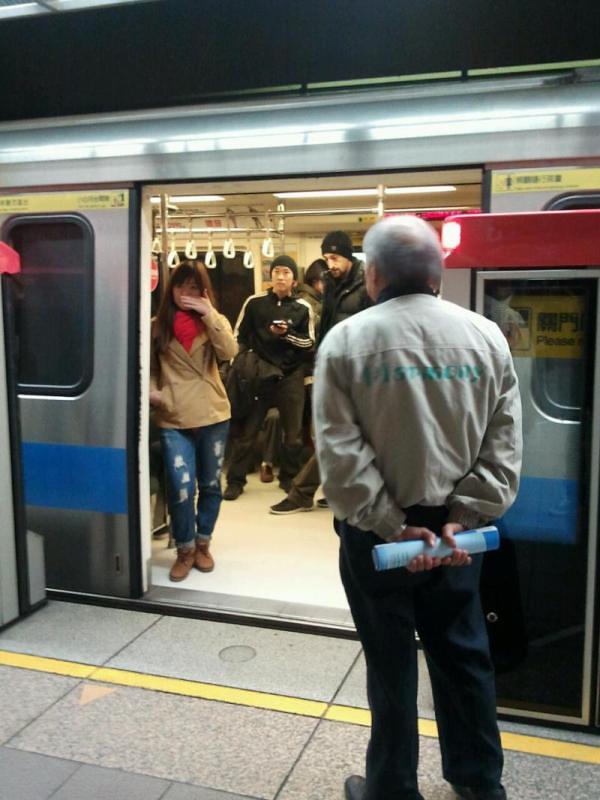 Adrien Brody in Taipei