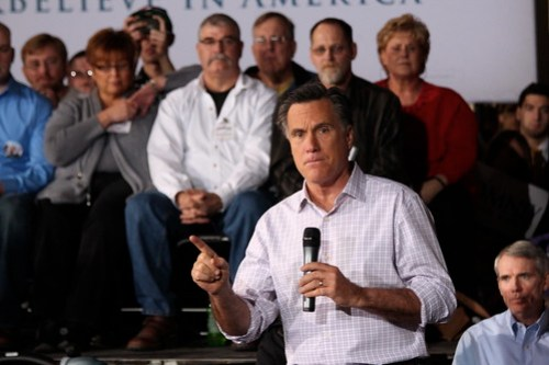 Mitt Romney town hall in Dayton, Ohio