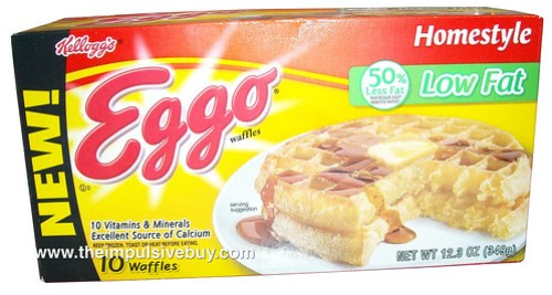 Kellogg's Eggo Low Fat Homestyle Waffles