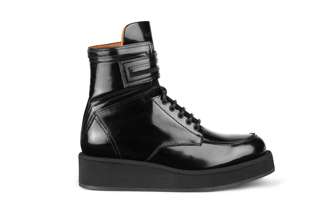 GIVENCHY SS 12 MENSWEAR ACCESSORIES - CREEPER SOLE BOOT SNEAKERS