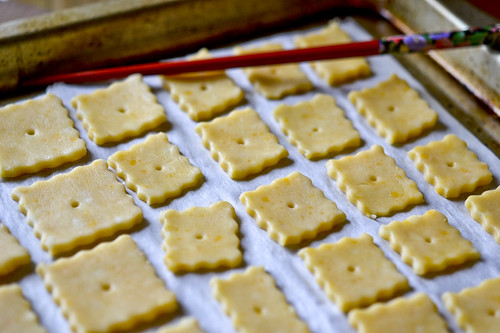 Homemade Cheese Crackers 11