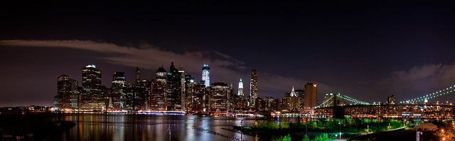 Brooklyn NYC skyline Panorama 1