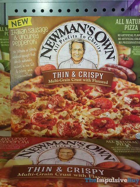 Newman's Own Thin & Crispy Italian Sausage & Uncured Pepperoni Pizza