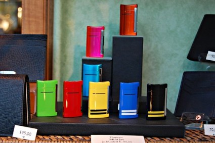 Colorful cigarette lighters