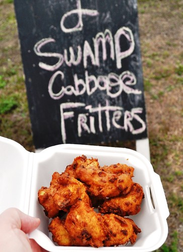Swamp Cabbage Fritters at Vicky's Lunch Box, LaBelle, Fla., Feb. 25, 2012