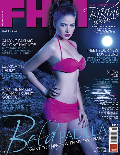 Bela Padilla - FHM, March 2012