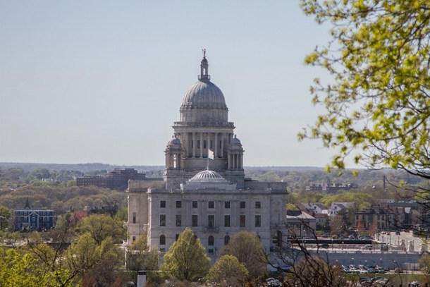 Statehouse in the Spring