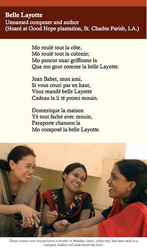 Slavery in French Program Pg 9b