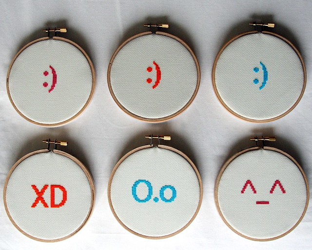 Photo:Emoticons By:freddiefraggles