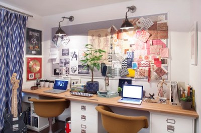 amber interiors office inspiration board