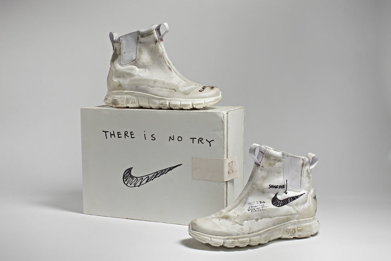 Tom Sachs Space Program Mars -  Whites - Boots - Tom Sachs Nike .004