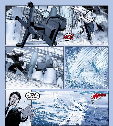 The Origin of Mr. Freeze Batman Annual 1