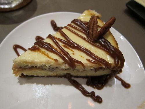 cheesecake at 'Cue