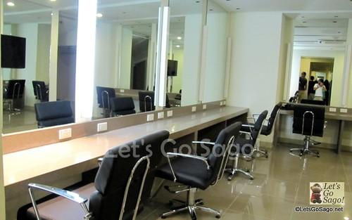 Make-Up Rooms