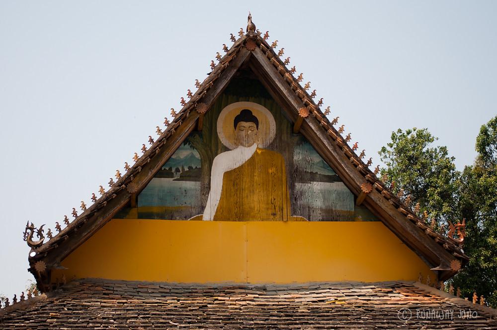Temple next to Octagonal Pavilion