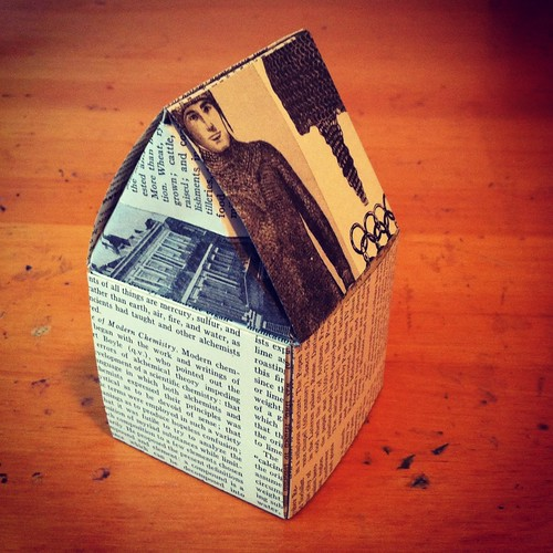 Book page house