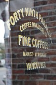 49th Parallel Coffee Roasters on Main St.