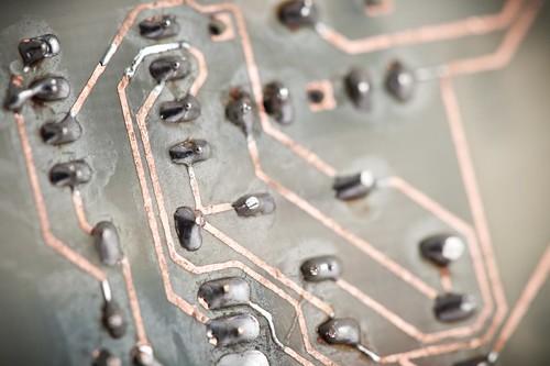 PCB tracks