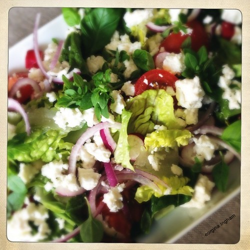 Greek Salad #loftus
