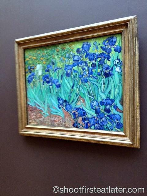 The J. Paul Getty Museum- Irises by Van Gogh