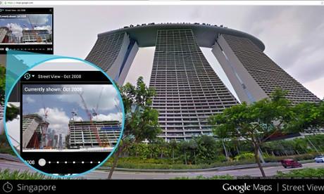 googlemaps-time-machine